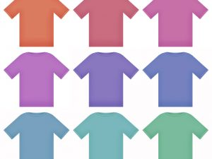 colored T-shirts by Billy Frank Alexander from Stock Exchange