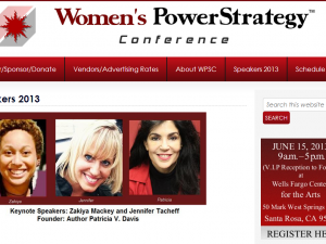 Women's Power Strategy Conference screenshot