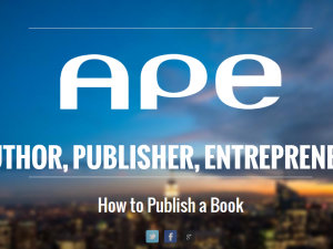 Author Publisher Entrepreneur screenshot