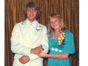 Terry Gault teenage prom photo