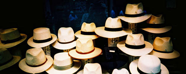 Hat shop on Jermyn St., London, by James Butler http://www.flickr.com/photos/slimjim/2786503962