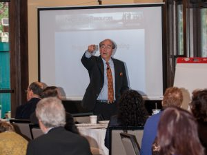 Lively presentations are just one part of what makes BACN meetings great.